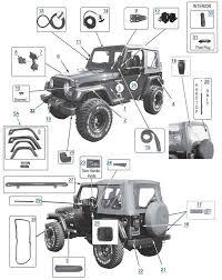tj wrangler parts 4 wheel parts