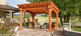 Gazebo Or Pergola by Pergolas San Diego California Backyard Unlimited