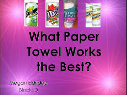 Research on scott paper towels   Buy essay