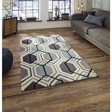 floor nice patterned grey rug design ideas with wooden flooring