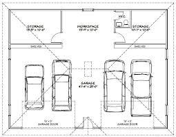 4 car garage dimensions 28 images 2 car garage designs