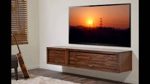 Floating Shelves Entertainment Center by Floating Entertainment Shelf Youtube