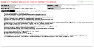 Sample Line Cook Resume by Line Cook Resume