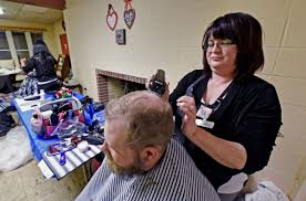 student run project offers free haircuts during north queen street