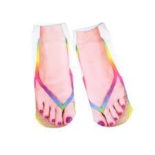 how to cut a flip for men unisex women men 3d flip flops print boat socks 1 pair funny casual