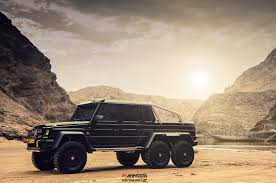mercedes g class 6x6 owner heads into the desert with his mercedes benz g 63 6x6