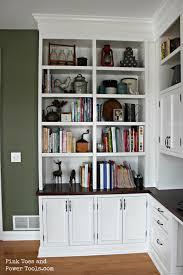Diy Built In Desk by Gorgeous Home Office Bookshelves Desk Custom Bookcases Custom
