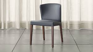 Grey Dining Chairs Curran Grey Dining Chair In Dining Chairs Reviews Crate And Barrel