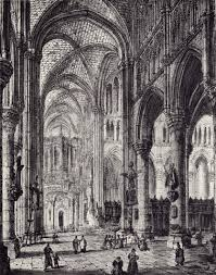 Cathedral Interior Ypres Cathedral Interior Of The Church Of St Martin From