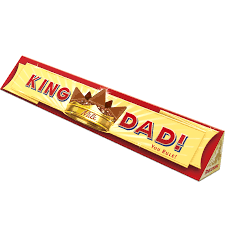 toblerone milk chocolate bar 400g u0027king dad u0027 sleeve toblerone