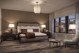 Contemporary Master Bedroom Contemporary Master Bedroom With Interior Wallpaper U0026 Crown