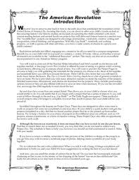 the american revolution introduction 4th 8th grade worksheet