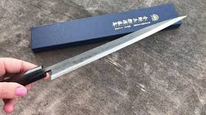 moritaka sujihiki 270mm aogami super japana japanese kitchen