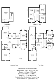 Roman Floor Plan by 8 Bedroom Detached For Sale In Sutton Coldfield