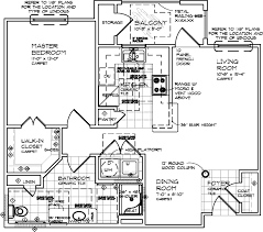 Two Bedroom Floor Plans One Bath Floor Plans U2013 Langwick Senior Residences
