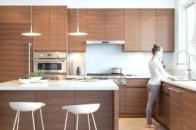 walnut kitchen cabinets modern walnut kitchen cabinets and white