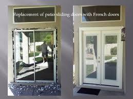 Removing A Patio Door Removing Patio Sliding Door And Installing Doors With Mini