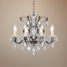 Crystal Chandeliers Schonbek 1707 76 Century 8 Light Clear Crystal Chandelier In