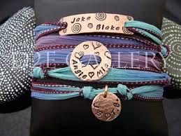 engraved ribbon 91 best silk wrap bracelet wrap bracelets custom silk ribbon