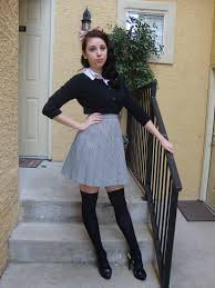 stockings halloween goth gabs diy halloween costumes from your own closet no