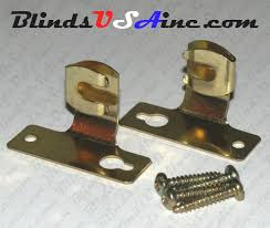 Curtain Rod Mounting Hardware Cafe U0027 Rod Parts Components And Mounting Hardware Blinds Usa Inc