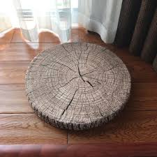 tree ring coffee table premium tree ring pillow cocoon touch