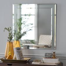 decor wonderland st petersburg modern bathroom mirror 35w x 35h