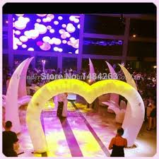 wedding decorations for sale new colourful 4 5mw 15ft heart shaped wedding decoration