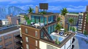 the sims 4 city living gallery spotlight penthouses sims community