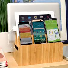 Device Charging Station Mv Original Bamboo Charging Stand And Organizer U2014 Mobilevision