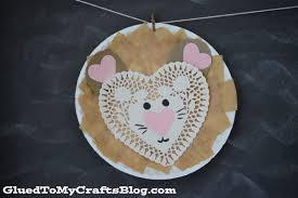 paper plate lion kid craft