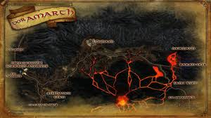 Map Of Mordor Mordor Tourism Lotro Update 21 Preview Lina U0027s Biscuity Burrow
