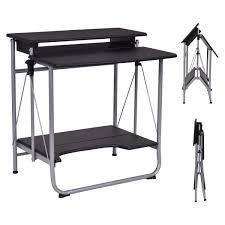 collapsible computer desk folding cleg desk homycasa rolling