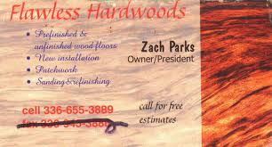 flawless hardwoods business cards nu expression