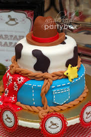 cowboy baby shower theme party razzle dazzle party box baby