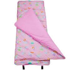 pink fairy nap mat child toddler sleeping bag