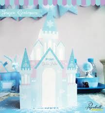 frozen centerpiece printable frozen birthday diy