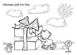 presents and gifts coloring pages part 9