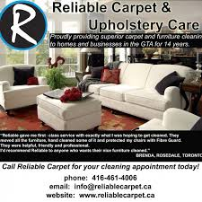 Upholstery Class Toronto Reliable Carpet U0026 Upholstery Care Reviews 270 Carlaw Ave