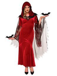 Girls Vampire Halloween Costume Womens Vampire Costumes Gothic Halloween Costume Women