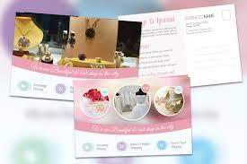 premium postcard template for product business promoton