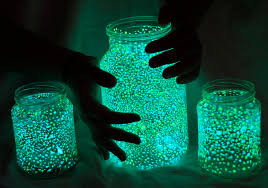 500px Blog » » Tutorial Create Glow in the Dark Mason Jars for Your