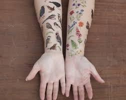 temporary tattoo etsy