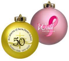 christmas ornaments calgary custom printed with company logo