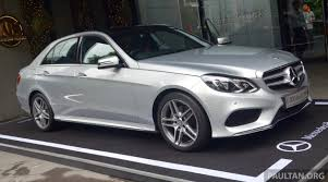 mercedes e diesel mercedes e300 bluetec hybrid launched rm349k
