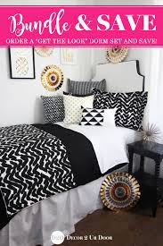Bedding Sets For Teenage Girls Bold Black And Beautiful This Black And White And Gold Teen
