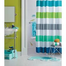 Target Striped Shower Curtain Circo Cool Rugby Stripes Shower Curtain Target
