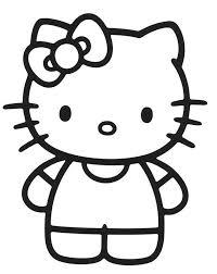dibujos hello kitty para colorear 9 dibujos para colorear