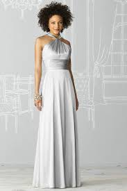bridesmaid dresses silver custom made halter elastic satin silver bridesmaid dresses