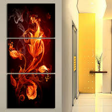 Modern Cheap Home Decor Free Shipping Canvas Nature Paintings Living Room Canvas Painting
